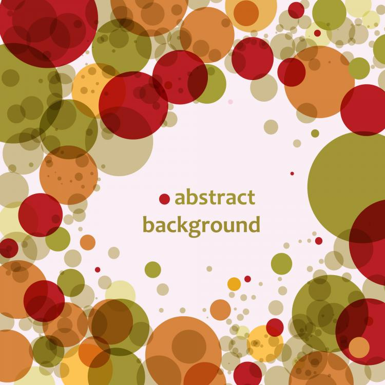 free vector 3 brilliant circle circle background vector