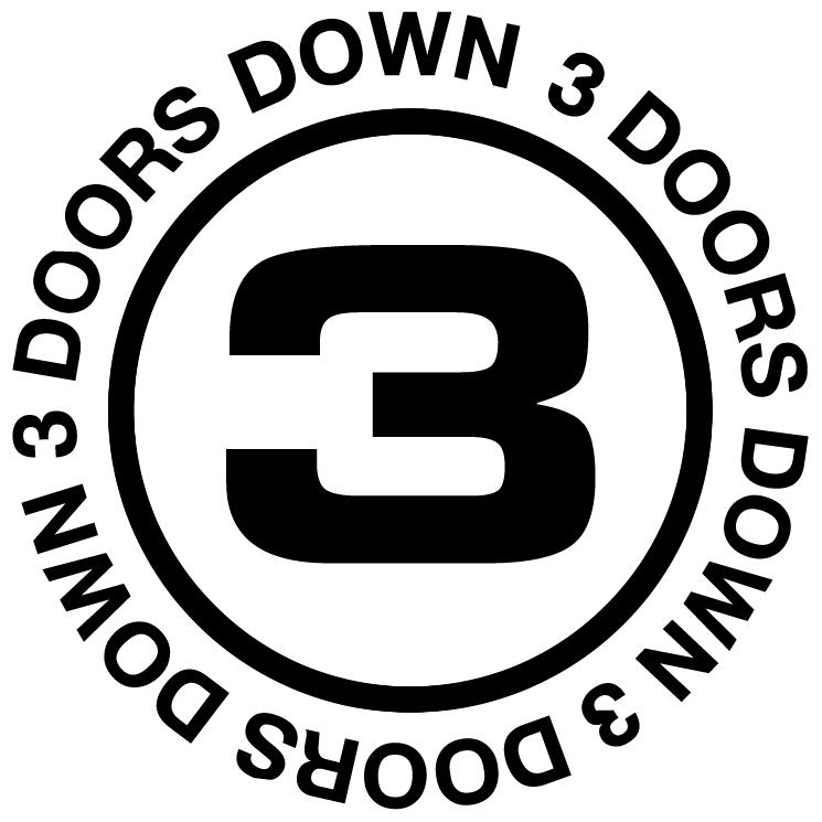 free vector 3 doors down