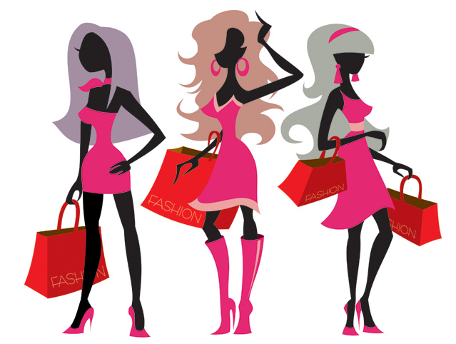 free vector 3 fashion women vector