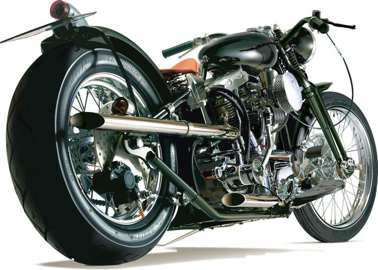 3 Free Vector Realistic Motor Cycles Free Vector 4vector