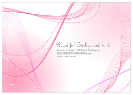 free vector 3 lines abstract background vector