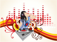 free vector 3 the trend of female subject vector illustration