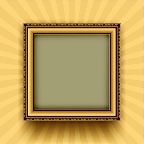 free vector 3 wood frame border clip art