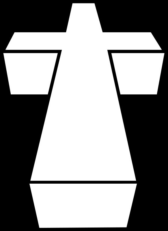 free vector 3D cross