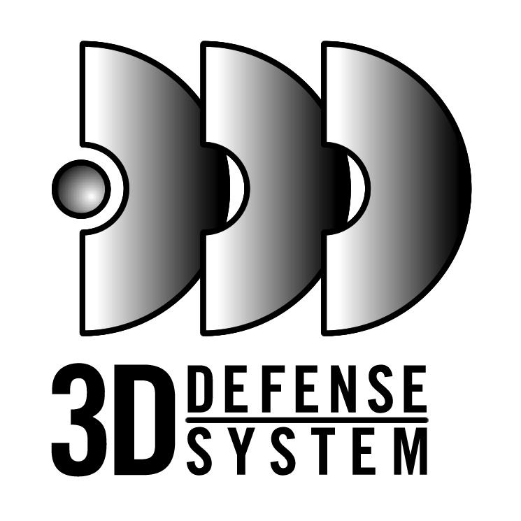 free vector 3d defense system