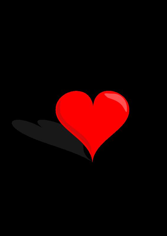 free vector 3D Heart
