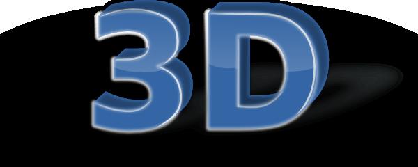 free vector 3d Text clip art