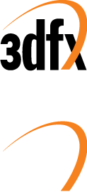 free vector 3DFX logo