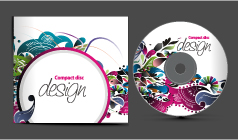 free vector 4 cd packaging vector