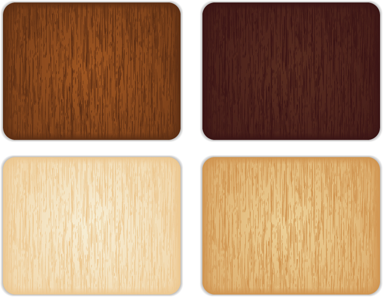 free vector 4 color wood grain background vector