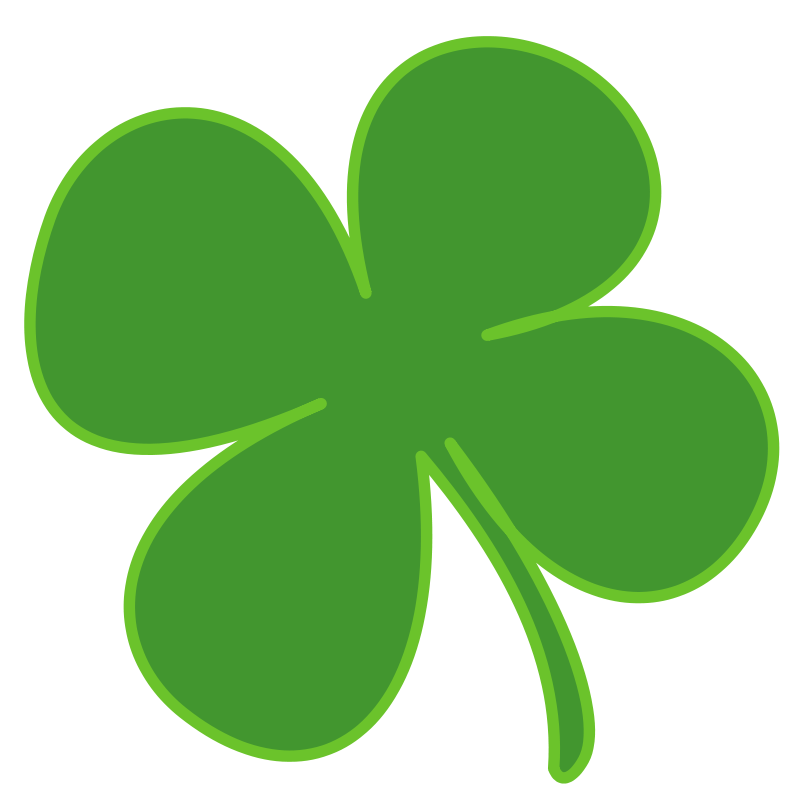 4 Leaf Clover Free Vector 4vector
