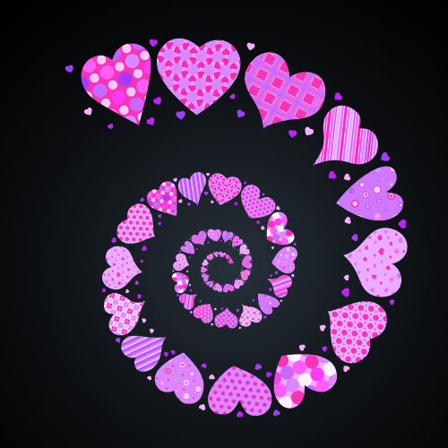 free vector 4 lovely valentine day vector elements