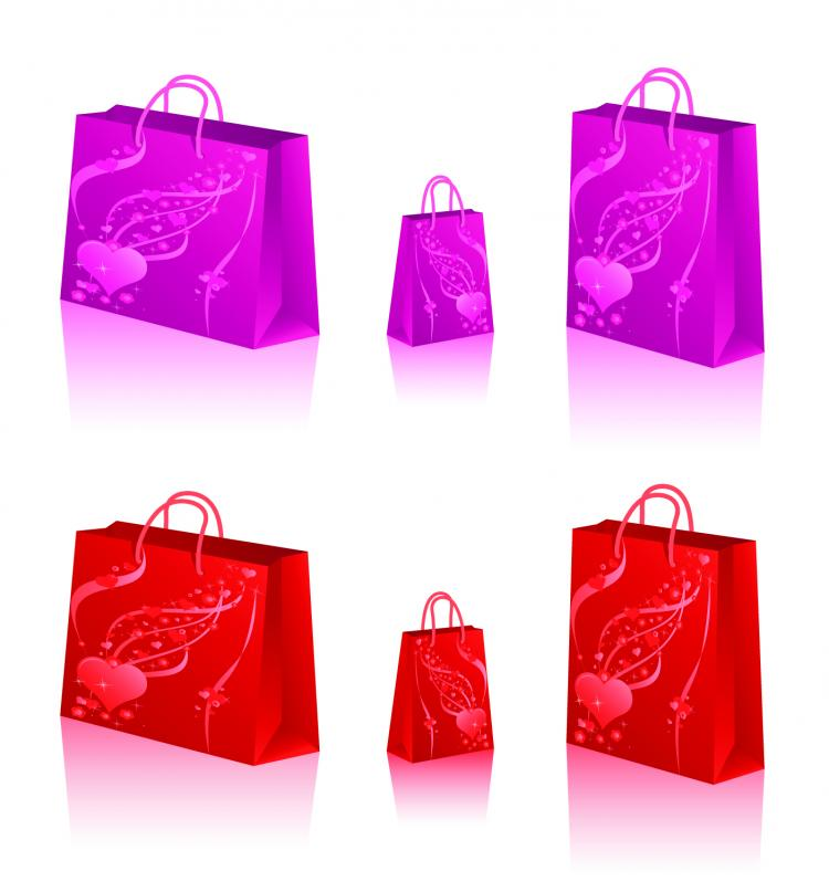 free vector 4 sets of bag vector