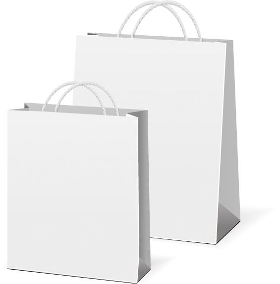 free vector 4 sets of bag vector