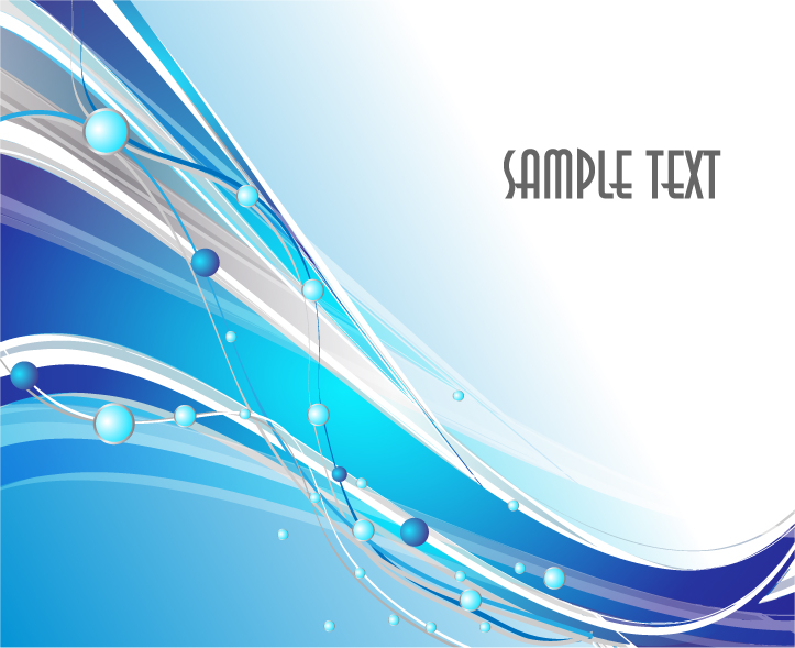 free vector 4 simple dynamic background of wavy lines vector