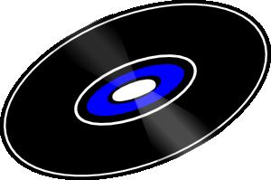 free vector 45 Rpm Record clip art