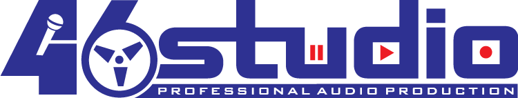 free vector 46 studio logo