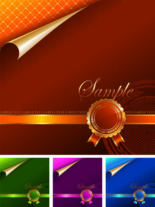 free vector 4color background and hua lixun zhang angular vector