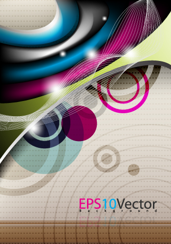 free vector 4glare background vector