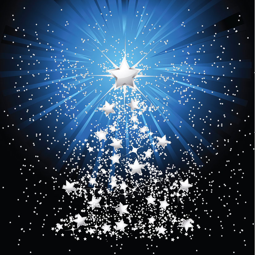 free vector 5 beautiful christmas tree vector - Beautiful Christmas Tree