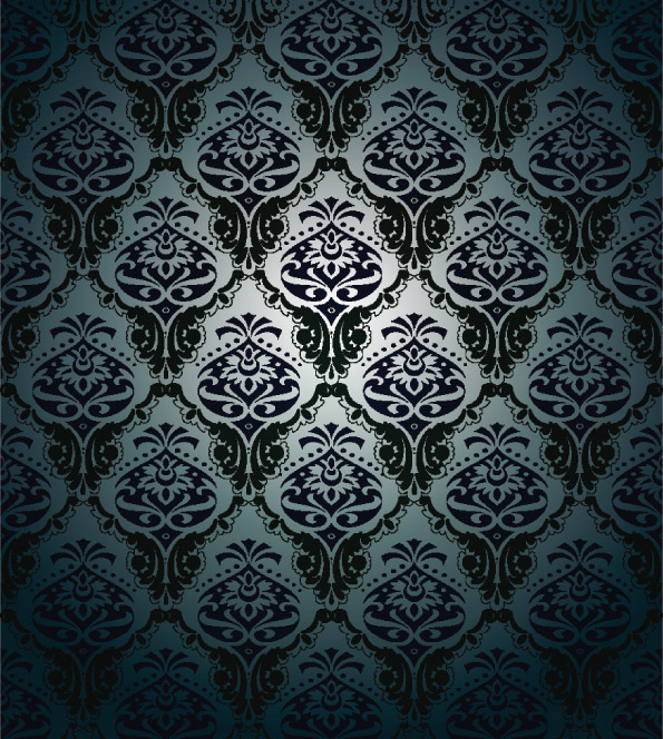 free vector 5 beautiful shading pattern vector