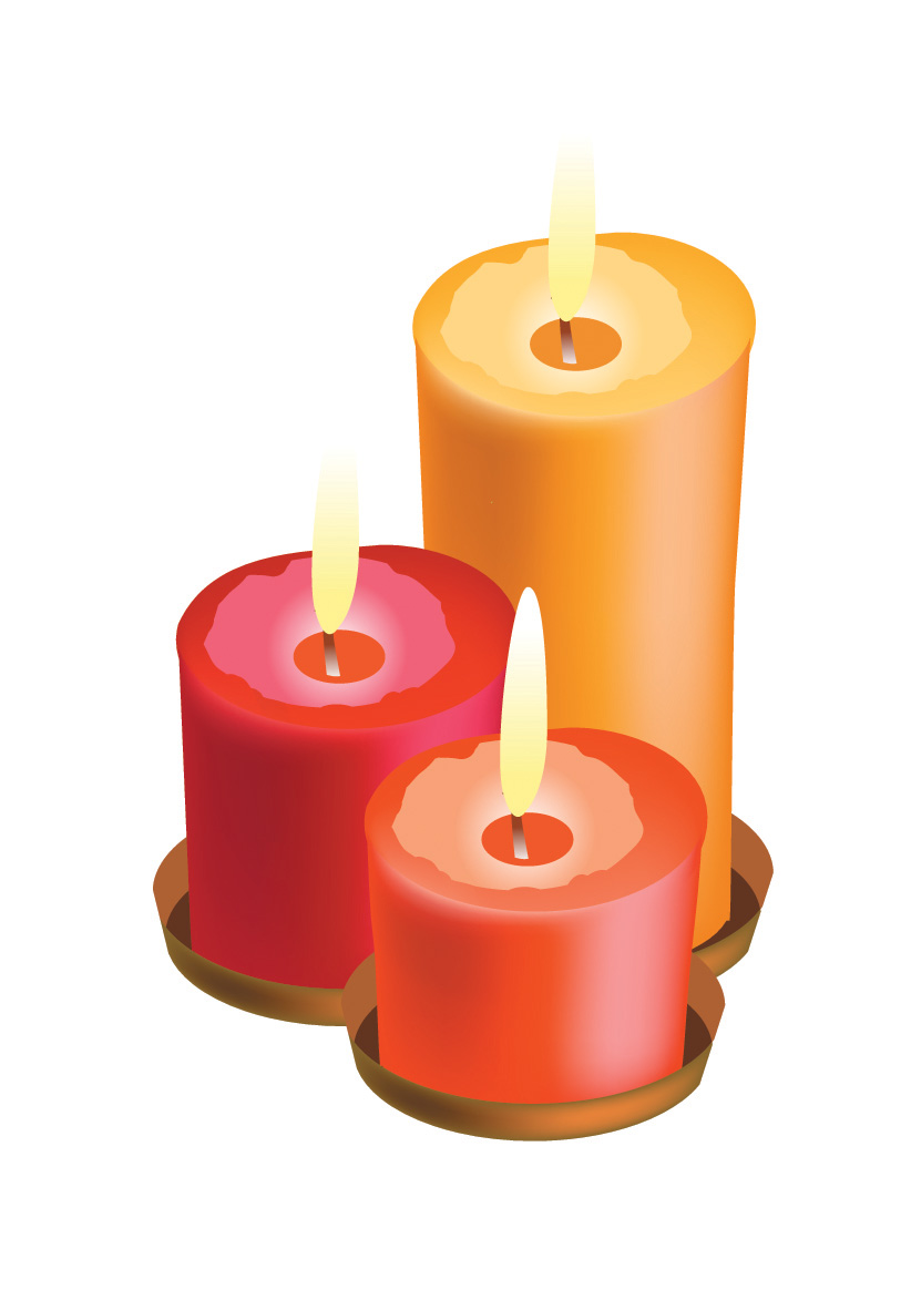 Candles 1662 Free Eps Download 4 Vector