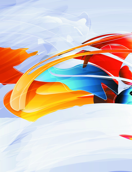 free vector 5 colorful abstract background of vector graphic