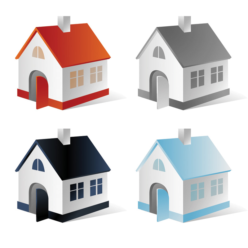 5 house vector free vector 4vector for House 4