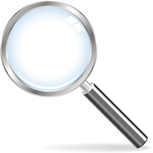 free vector 5 magnifying glass vector