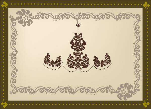 free vector 5 practical lace vector