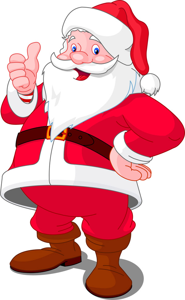 free clip art father christmas - photo #10