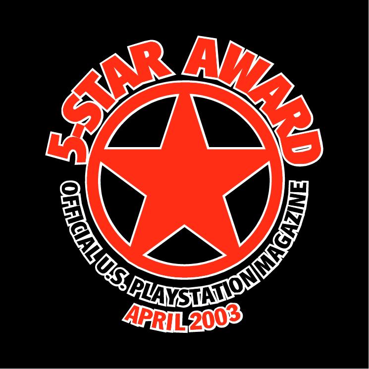 free vector 5 star award