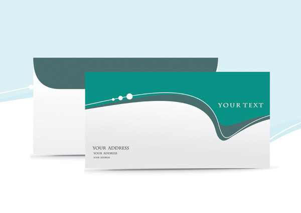 free vector 5 stylish beautiful envelope vector
