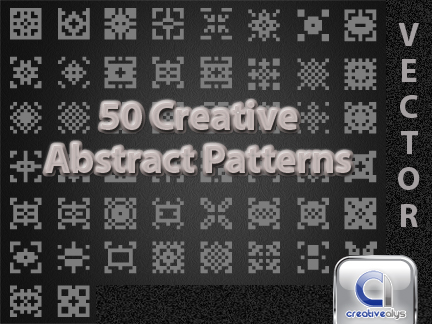 free vector 50 Creative Abstract Patterns