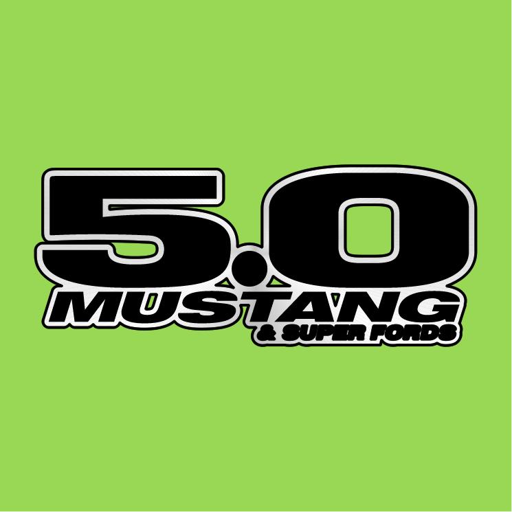 free vector 50 mustang