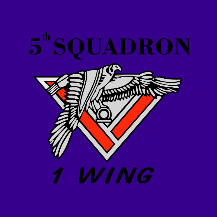 free vector 5th squadron 1 wing