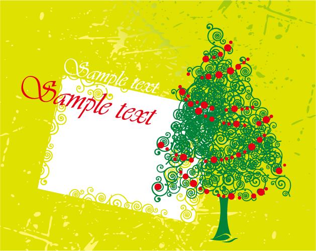 free vector 6 cute christmas vector illustration
