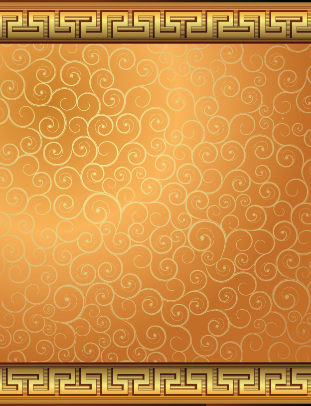 free vector 6 european gorgeous pattern vector