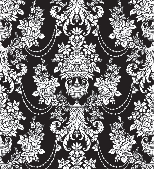 free vector 6 shades of fashion pattern vector