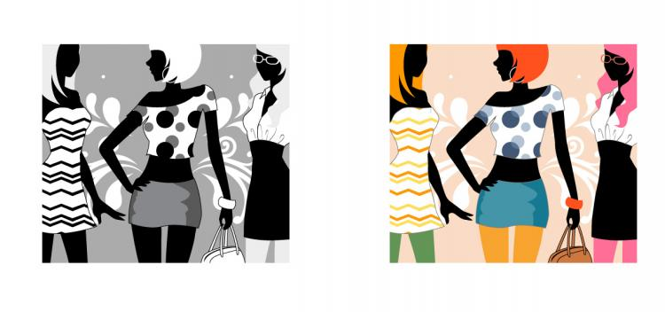 free vector 6 vector fashion the lives of women