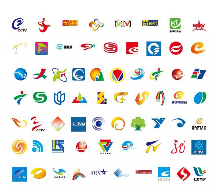 68 domestic television logo Free Vector / 4Vector