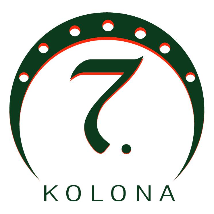 free vector 7 kolona
