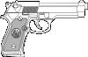 free vector 9 Mm Gun clip art