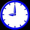 free vector 9 O'clock clip art