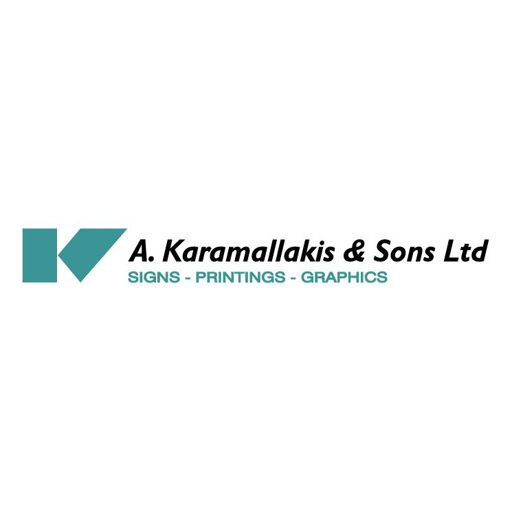 free vector A karamallakis sons