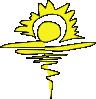free vector A Sanyal Sunrise clip art