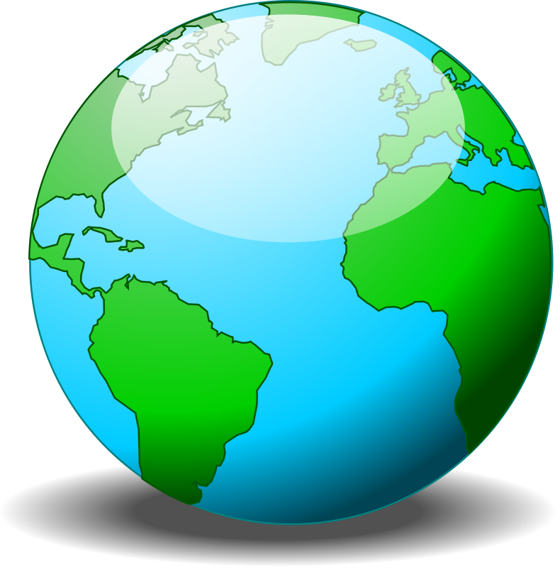free vector A simple globe