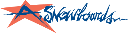 free vector A Snowboards logo