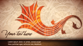 free vector A touch of elegance banner vector background
