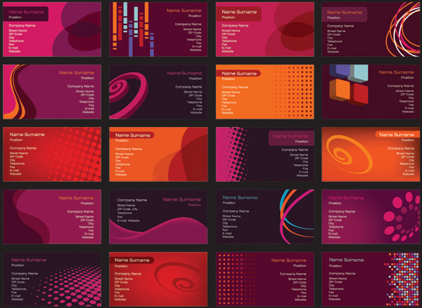 free vector A variety of beautiful vector background nonoriginal works